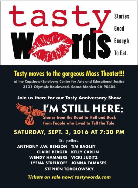 Tasty Words starring Claire Berger
